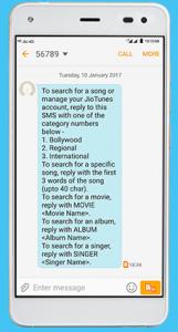 Jio Caller Tunes SMS