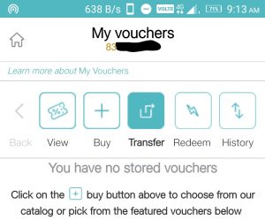 Jio Vouchers Transfer