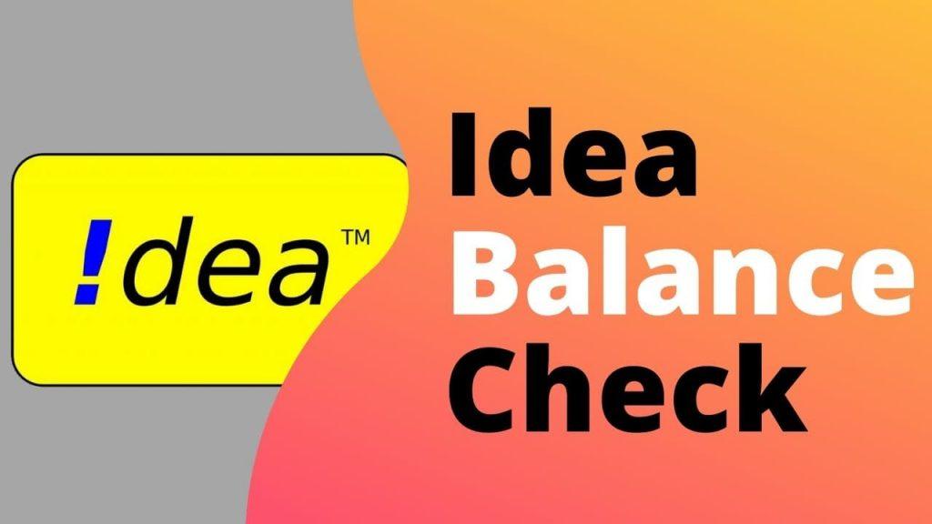 Idea USSD Codes List [4G] (Vi Net Balance Check Number) 1